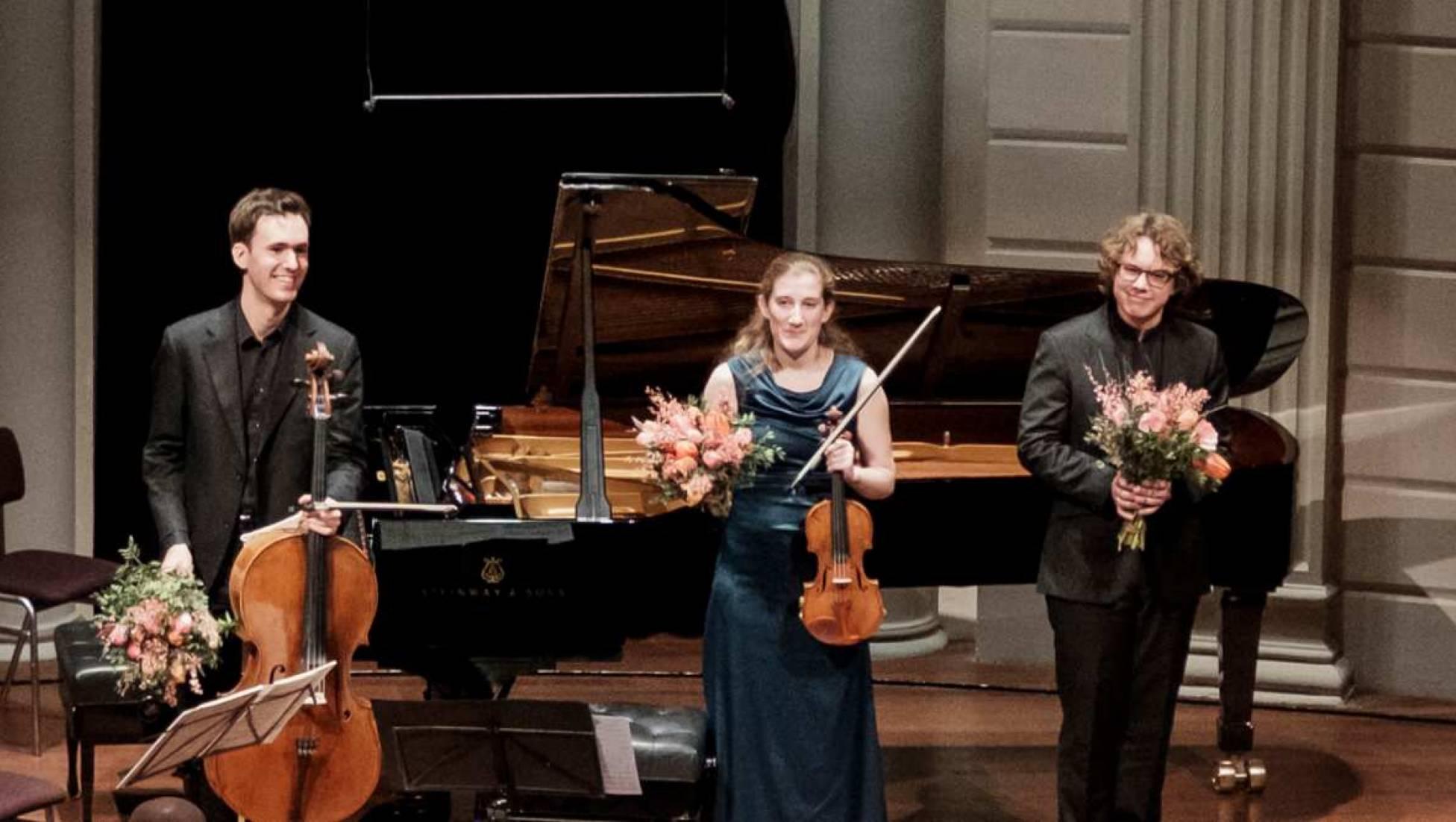 Van Baerle Trio speelt Schubert en Haydn