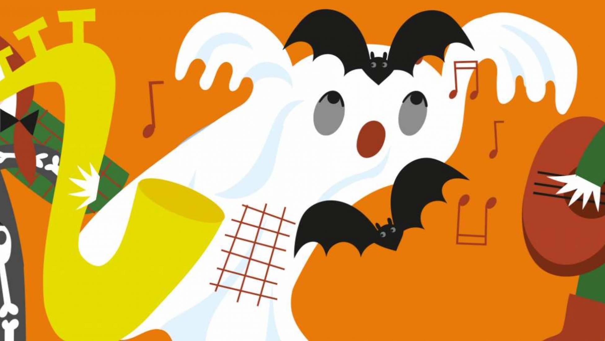 Halloween Familieconcert: De spoken van Jammerzucht (6+)