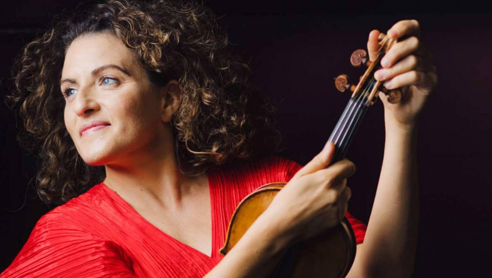 Liza Ferschtman in Brahms' Vioolconcert