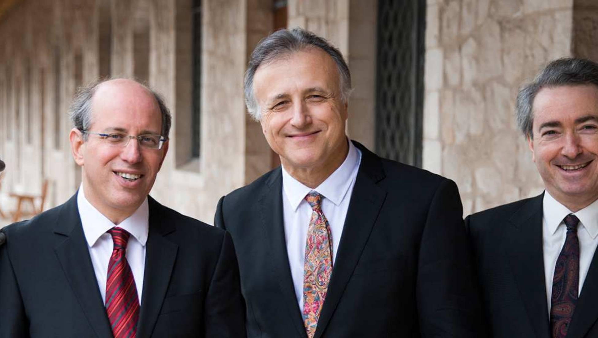 Pianotrio Shaham Erez Wallfisch met Beethoven en Arenski